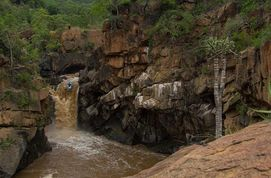 Kayak Waterfall South Africa